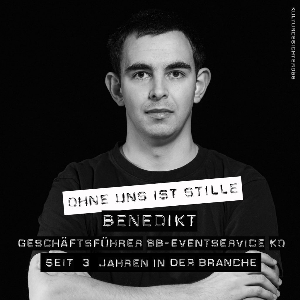 Benedikt Bruchhof Eventservice